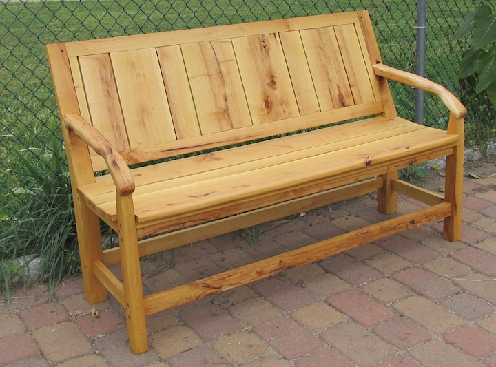 Our new bench