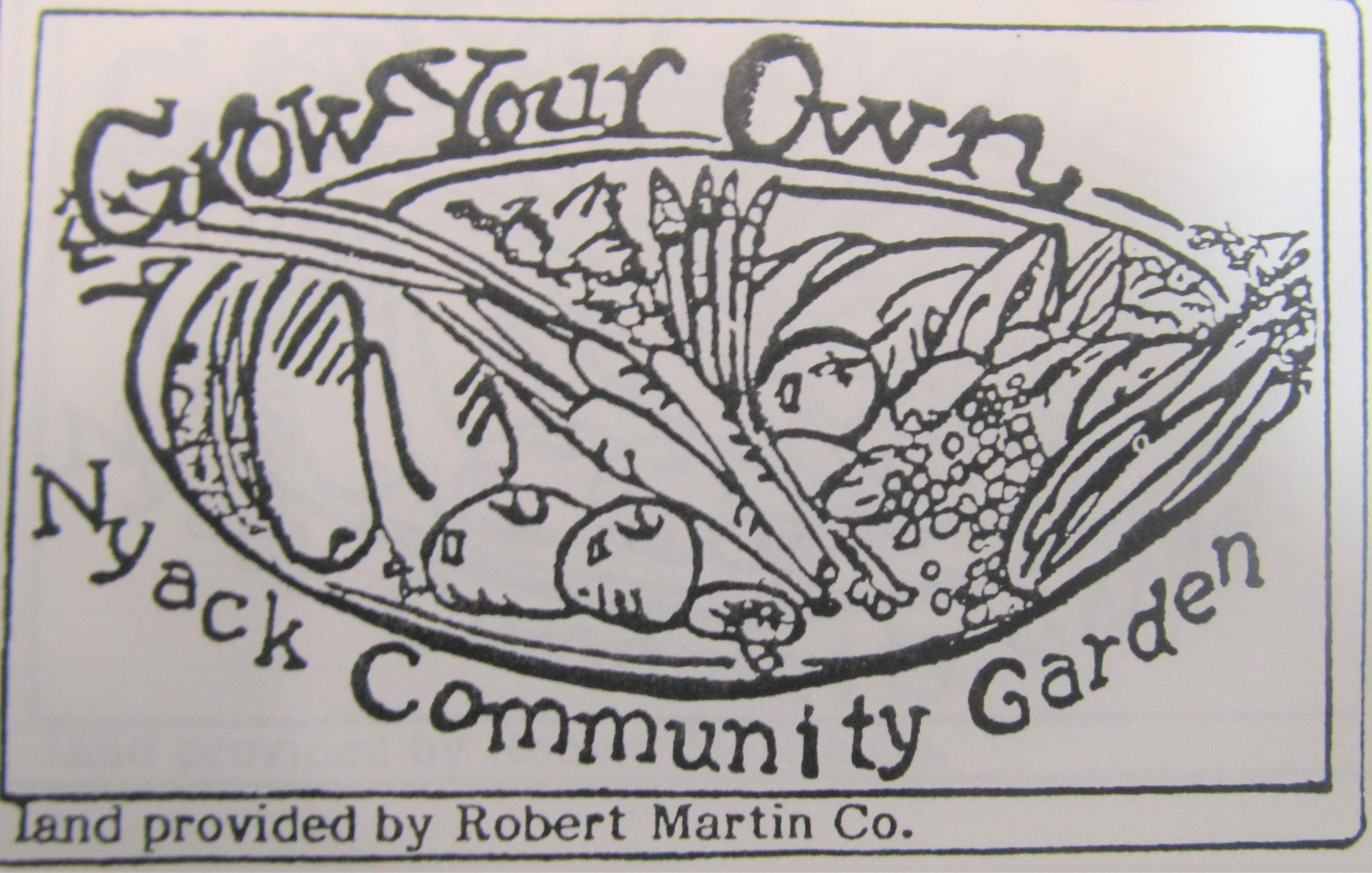 Garden logo from the 1980's